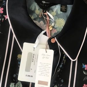 """Elie Tahari Tops - NWT """"TED BAKER"""" BLOUSE SIZE 2"""